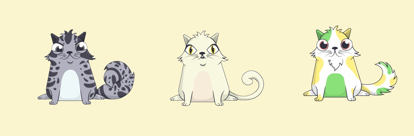 Cryptokitties illustration